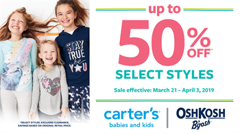 carter's - Special Offer