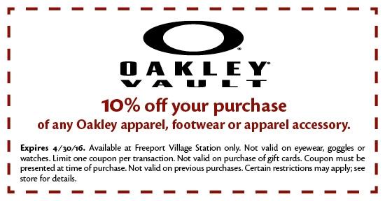 Oakley Vault Discount Code