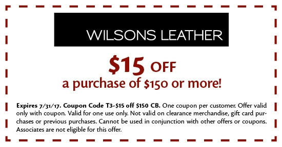 Wilsons Leather is your trusted online leather fashion specialist. These handbags, leather jackets and suitcases are to die for. Of course, the Wilsons Leather online store caters to both men and women alike. You can even discover a big and tall and plus size range at this online store.
