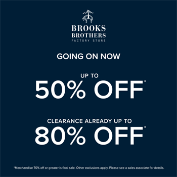 Brooks Brothers - Special Offer