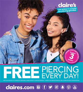 Claire's - Special Offer
