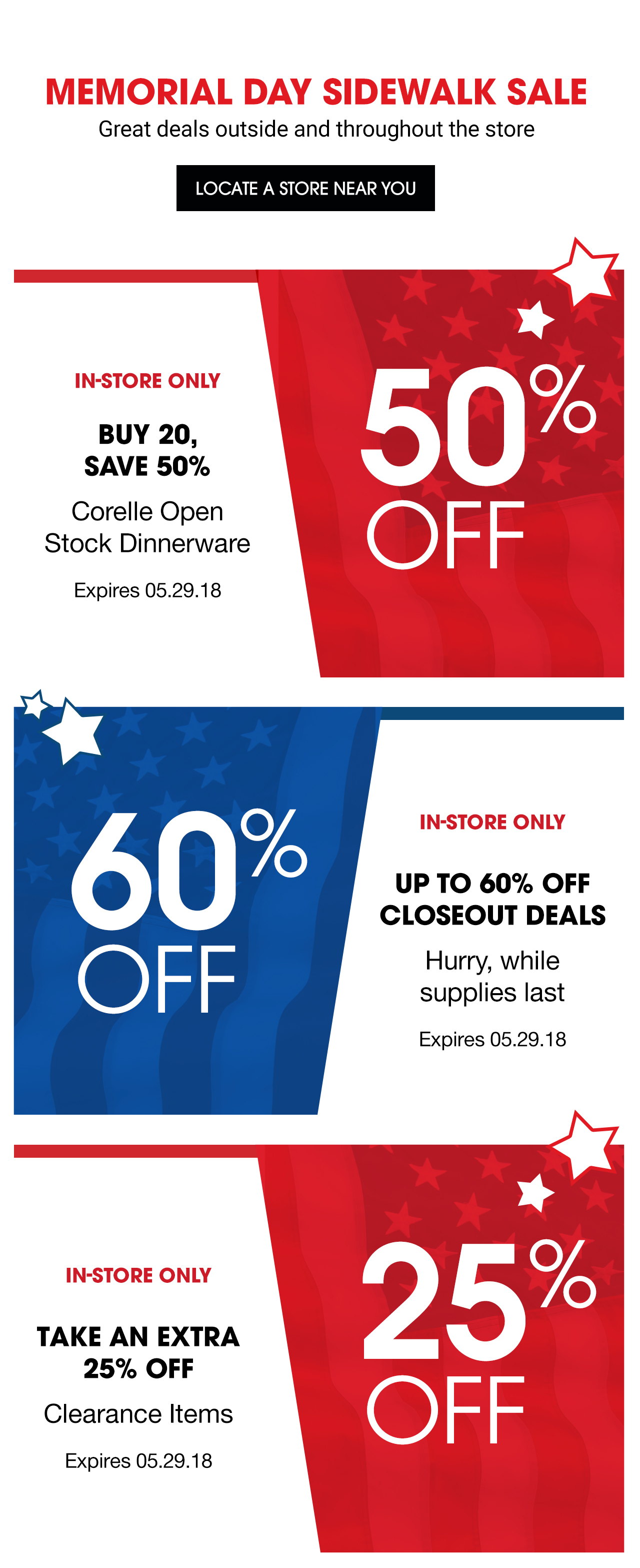 Corning - Special Offer