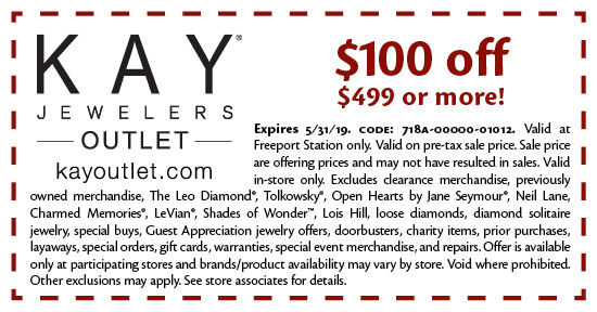Kay Jewelers Outlet - Coupon
