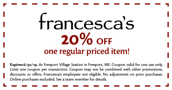 Francesca's - Coupon
