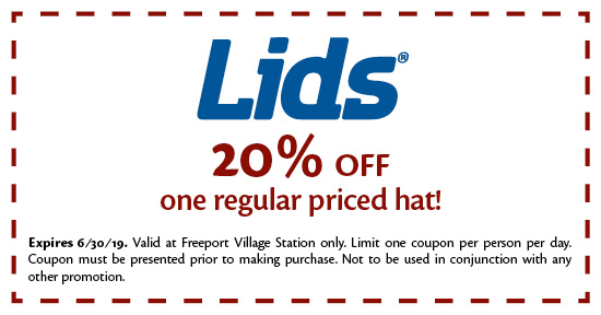 Lids - Coupon