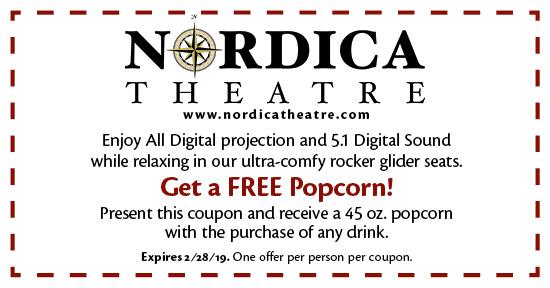 Nordica Theatre - Coupon
