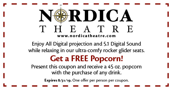 Nordica Theatre - Coupon