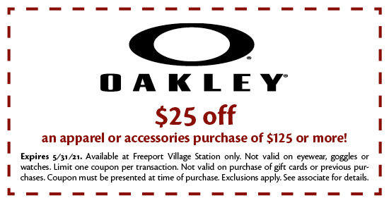 Oakley Vault - Coupon