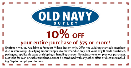 Old Navy Outlet - Coupon