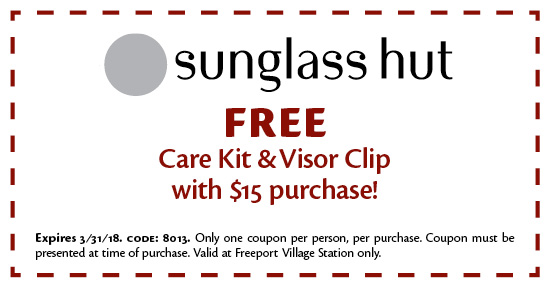 Sunglass Hut - Coupon