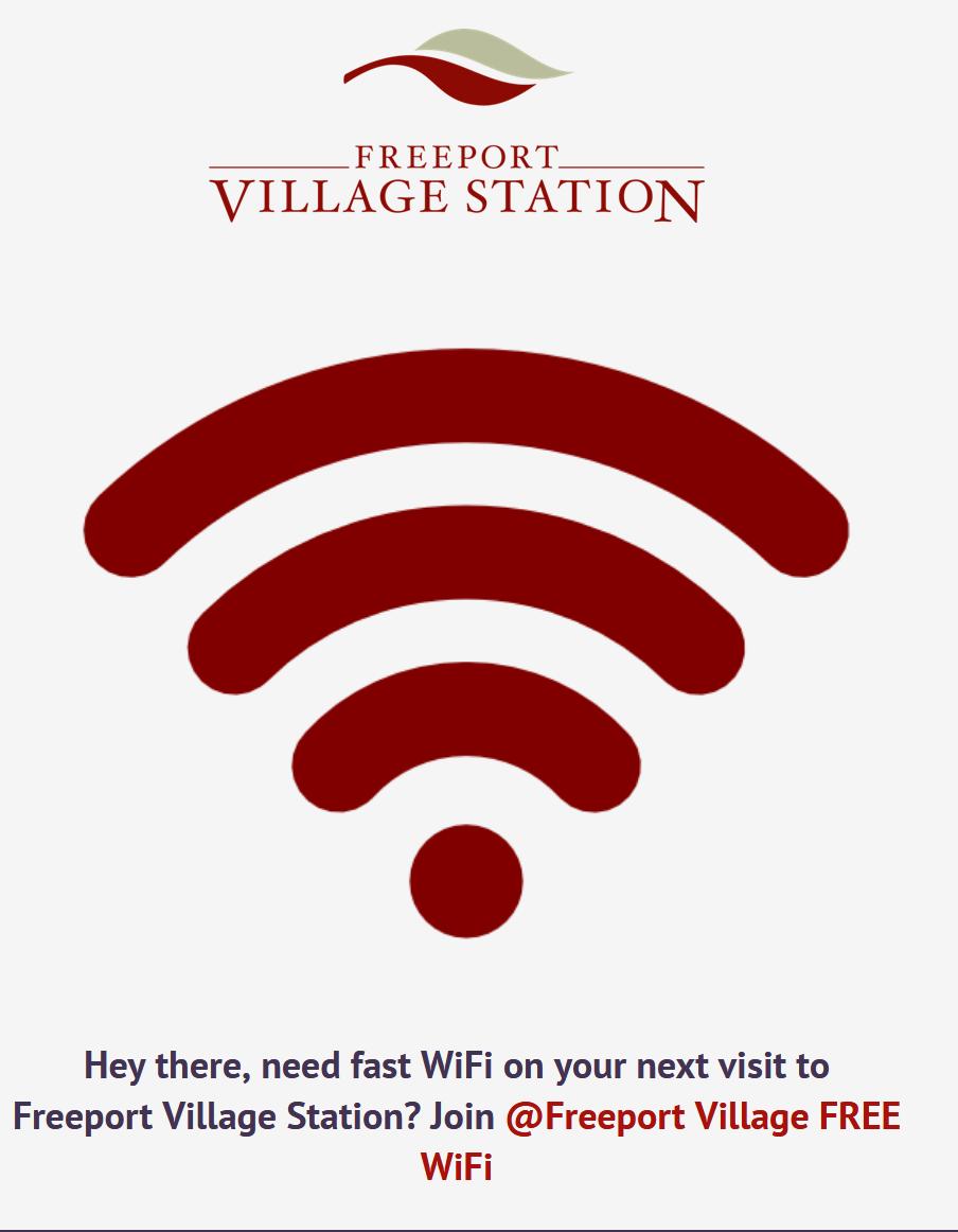 Freeport Village Free WiFi - Special Offer