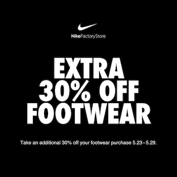 NIKE Factory Store - Special Offer