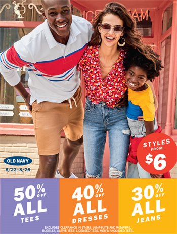 Old Navy Outlet - Special Offer