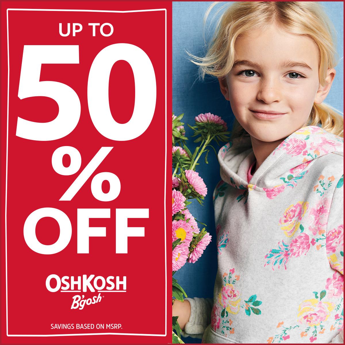 OshKosh B'gosh - Special Offer