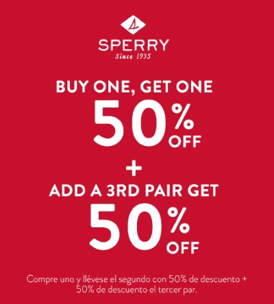 Sperry (Neigbor on Main) - Special Offer